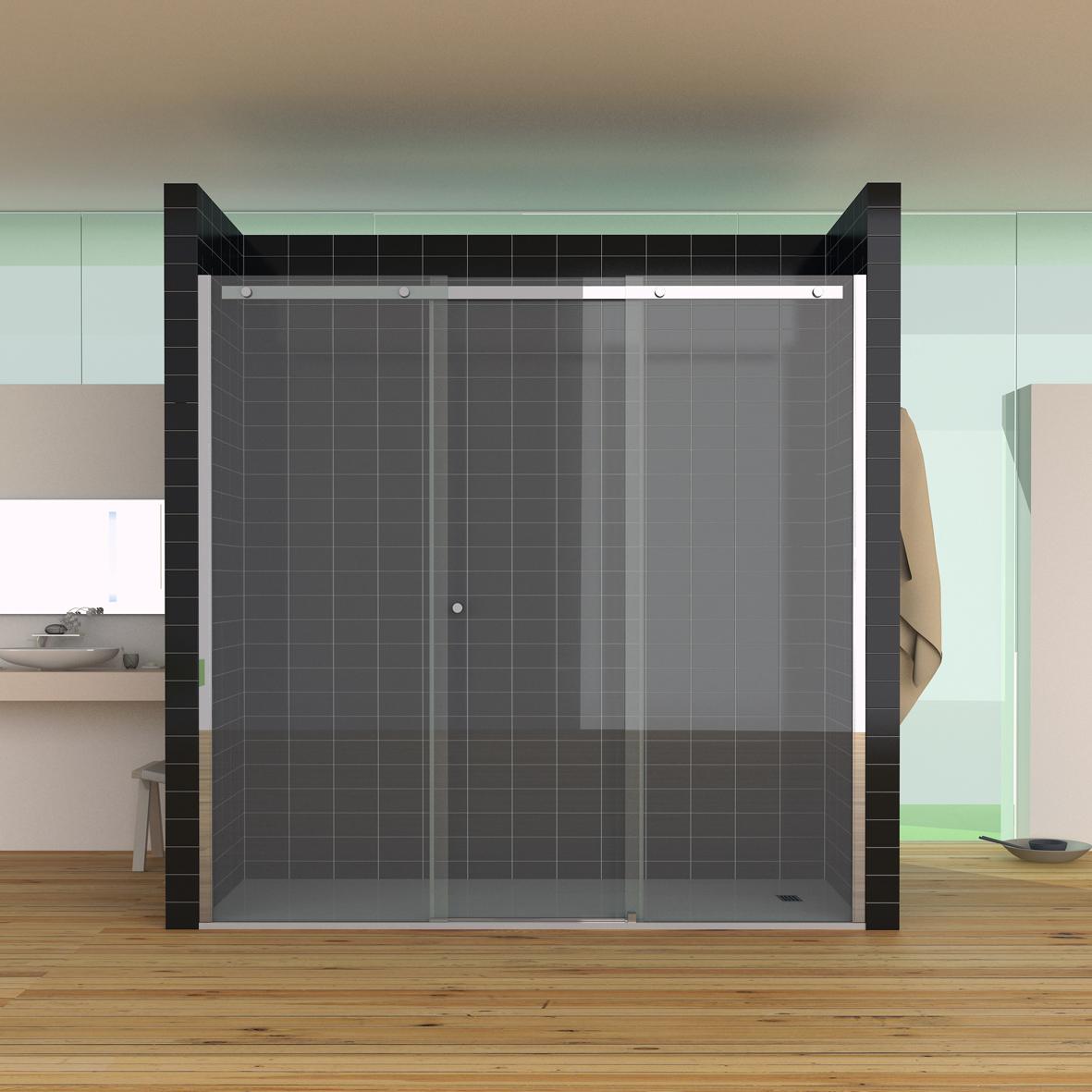 SU3 - Nueva serie Suite. Mampara de baño