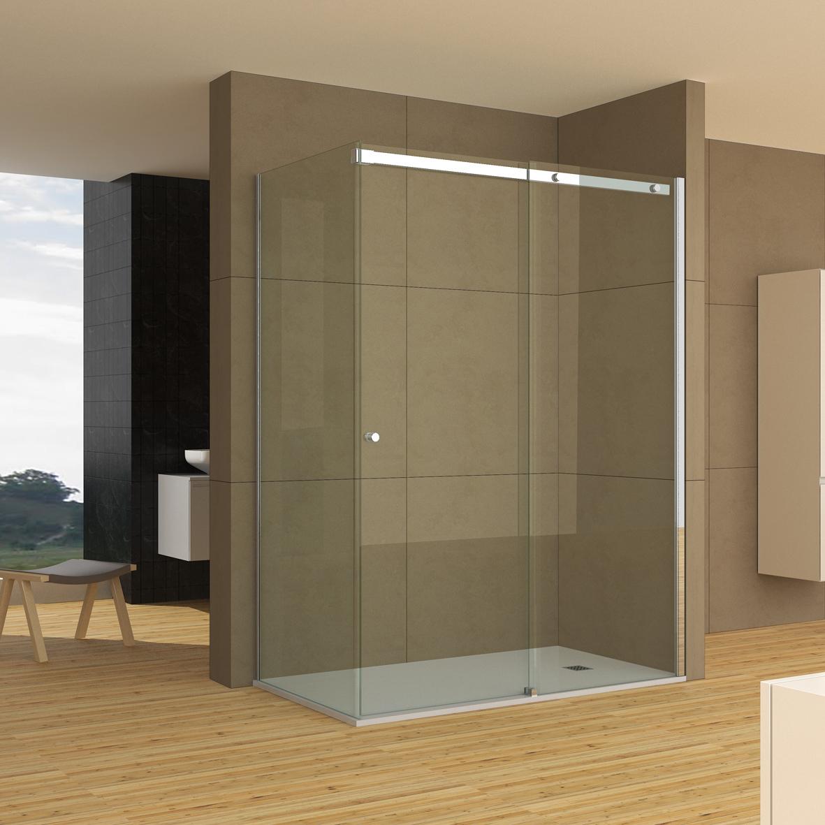 SU3A - Nueva serie Suite. Mampara de baño