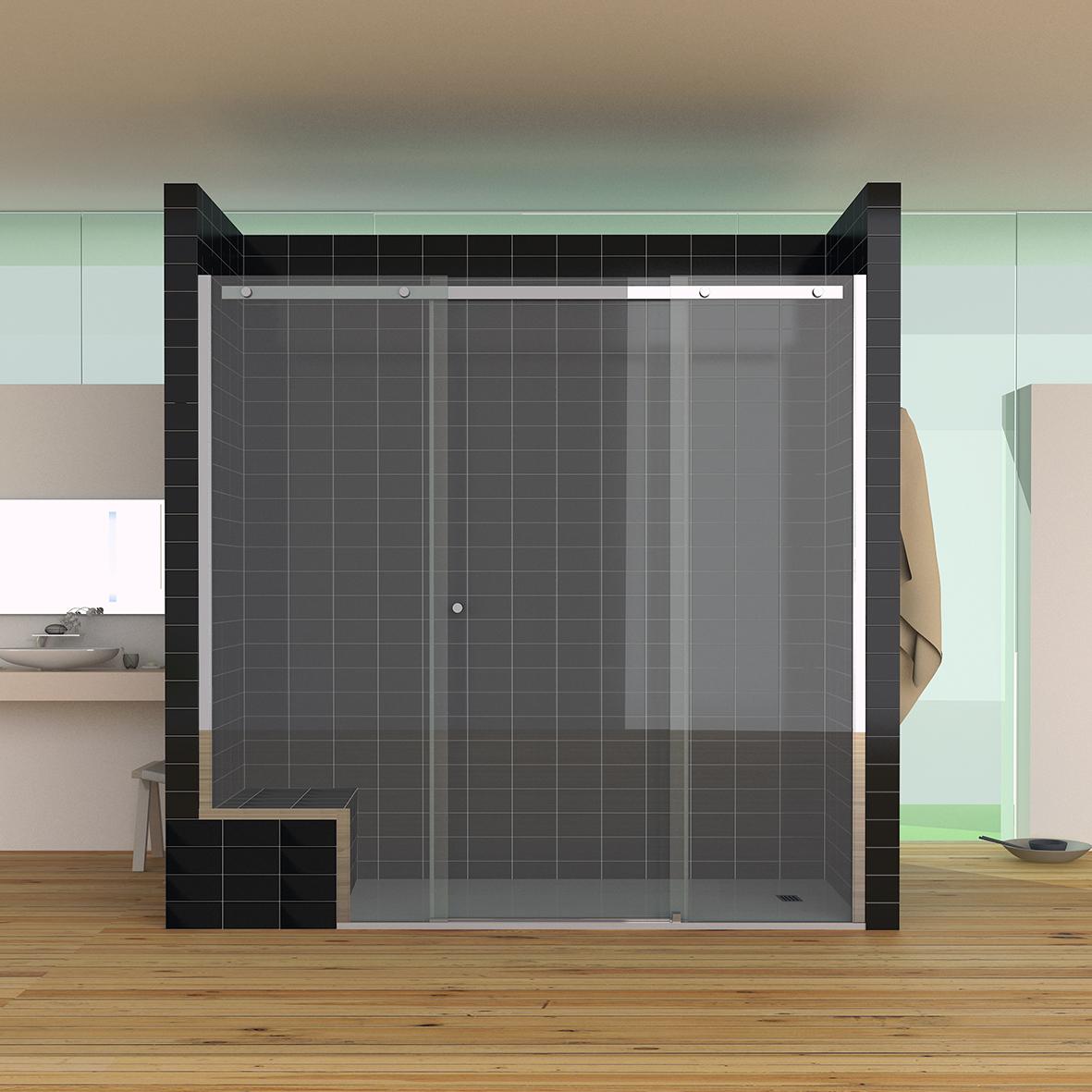 SU3R - Nueva serie Suite. Mampara de baño