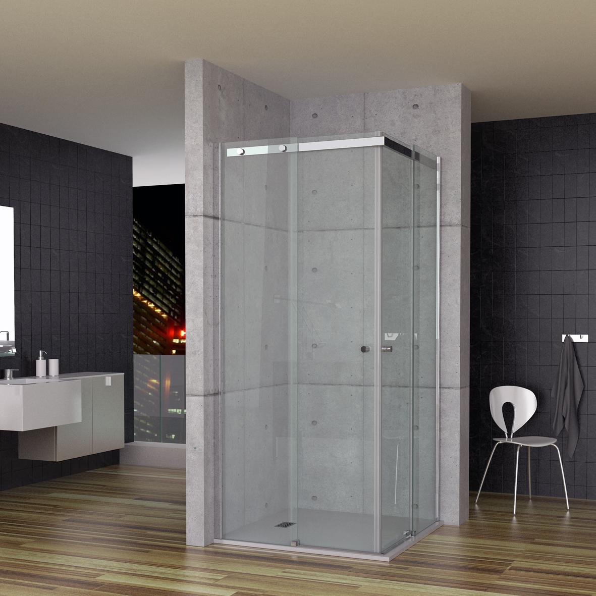 SU4A - Nueva serie Suite. Mampara de baño