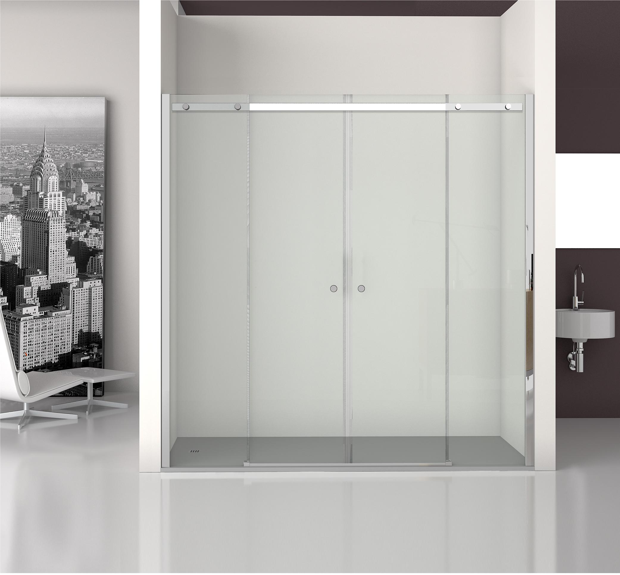 SU4  - Nueva serie Suite. Mampara de baño