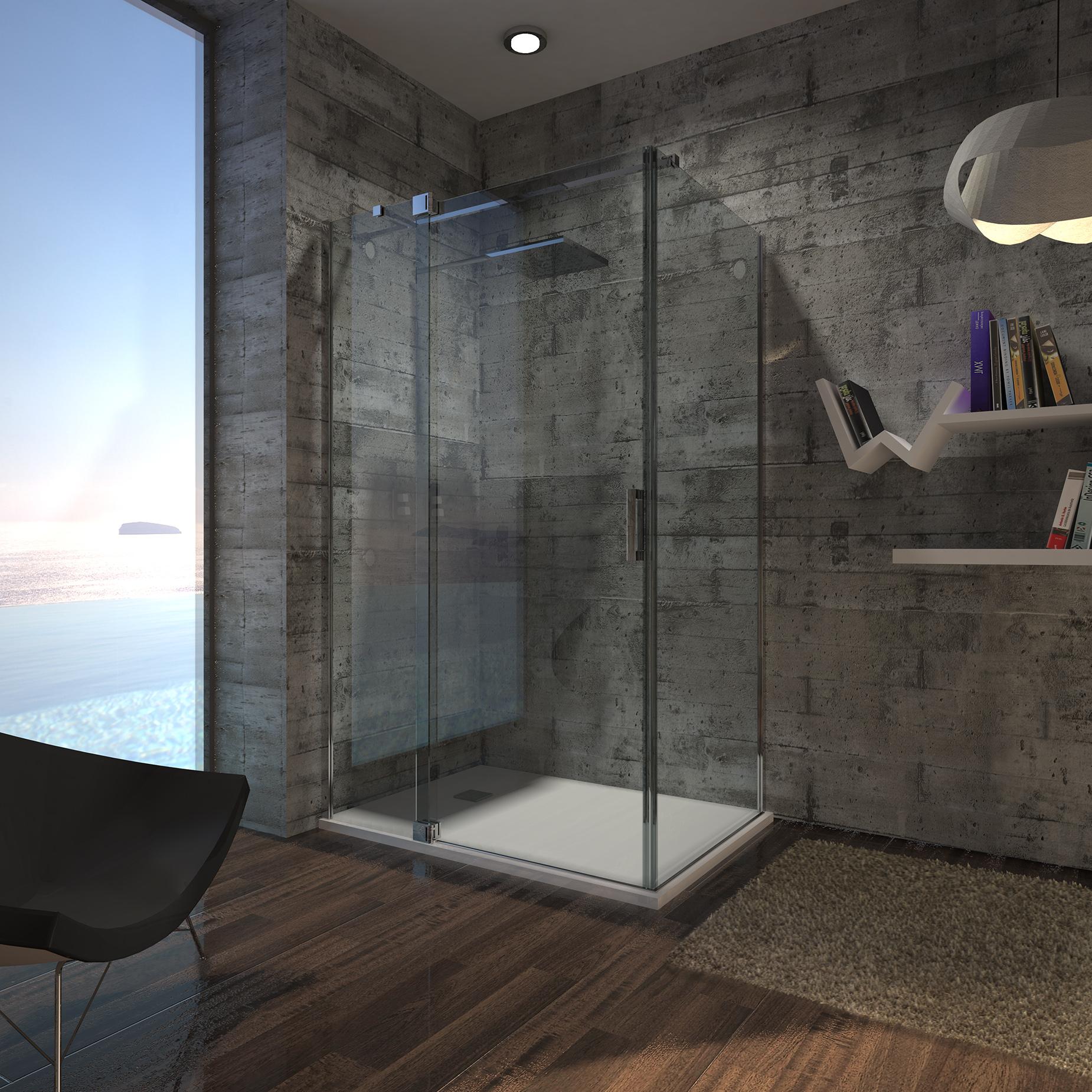 OP3A - Nuevo modelo Open. Mampara de baño.