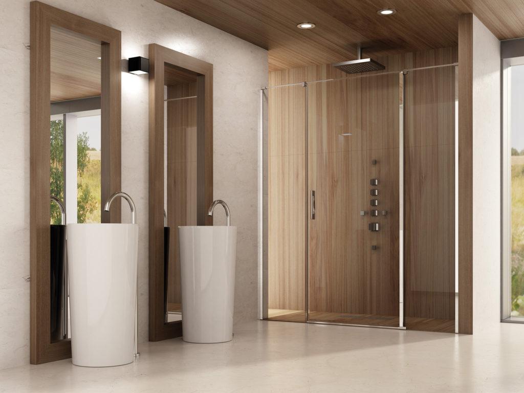 Mamparas de baño a medida Serie Alba 3