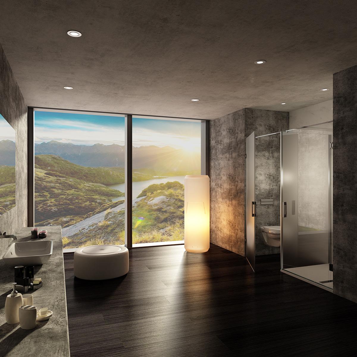 Spazia lanza la serie NOVA. Mampara de baño