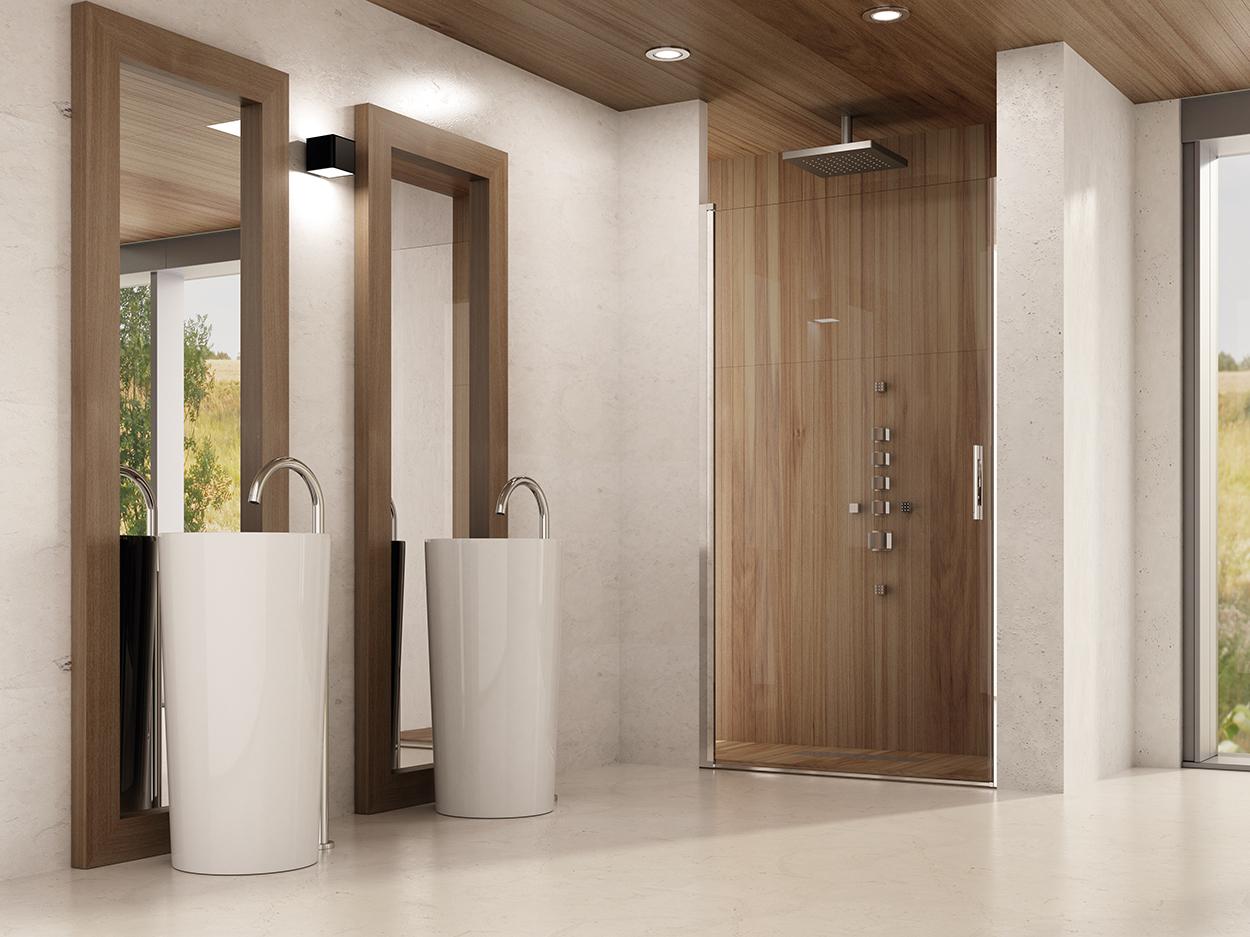 Mamparas de ducha herméticas