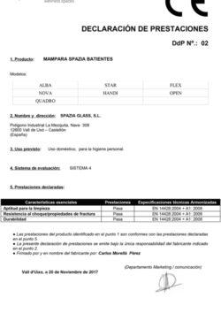 Declaración_Prestaciones_01-MAMPARA-SPAZIA-BATIENTES(Español)