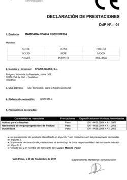 Declaración_Prestaciones_01-MAMPARA-SPAZIA-CORREDERA(Español)