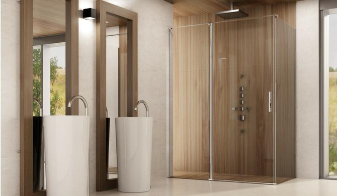 Mamparas de ducha o bañera. Cómo medirlas.