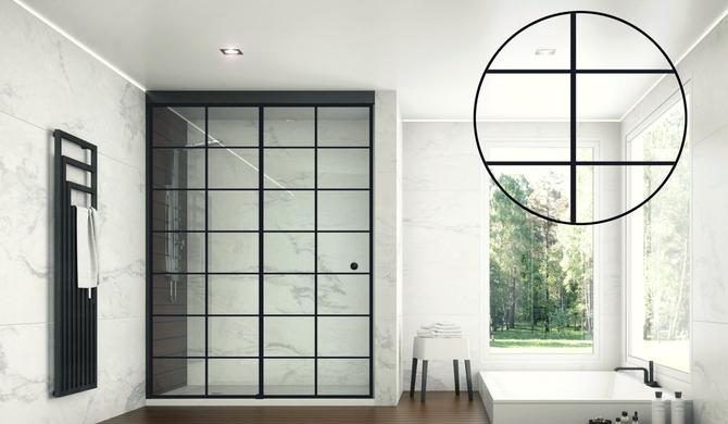Negro, tendencia en decoración de baños