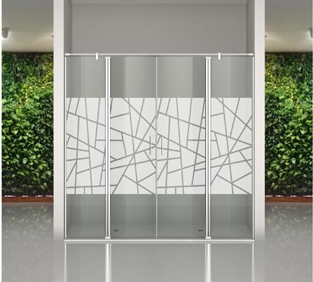 Mamparas personalizadas de vidrio templado