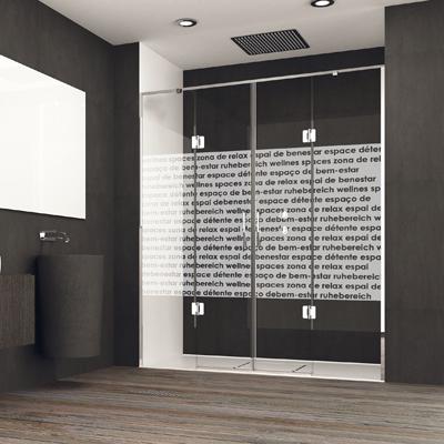 Mampara personalizada con impresión digital