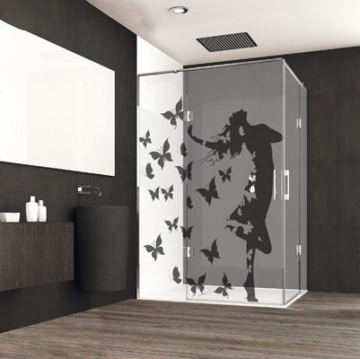 Diseño de mamparas de baño personalizadas