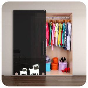 impresión digital en puertas correderas para armarios