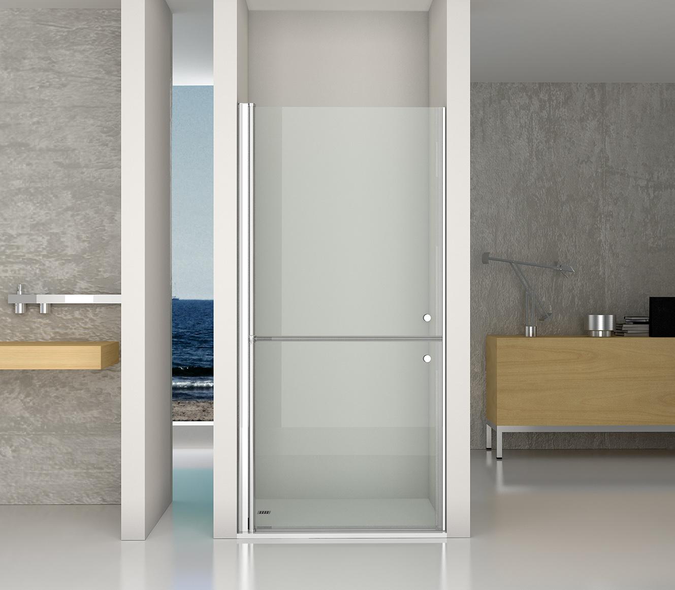 Modelo handi HN2. Mamparas de ducha para personas con movilidad reducida