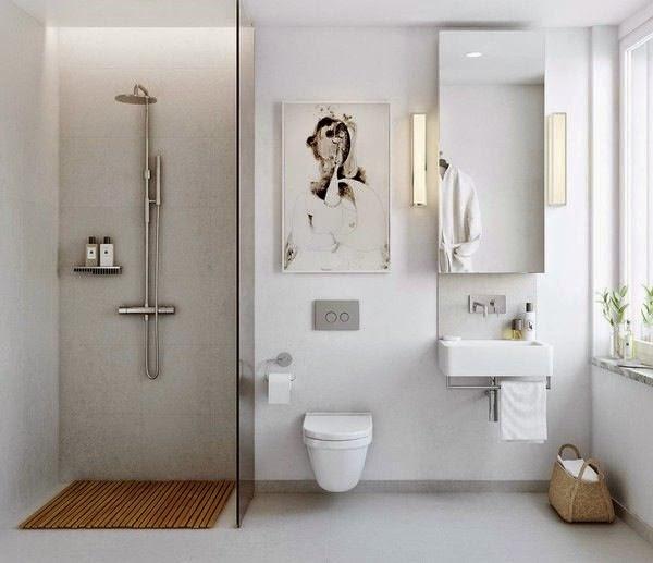 cuarto de baño estilo nórdico