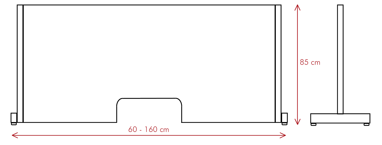 vector mampara proteck mv - Ptoteck M