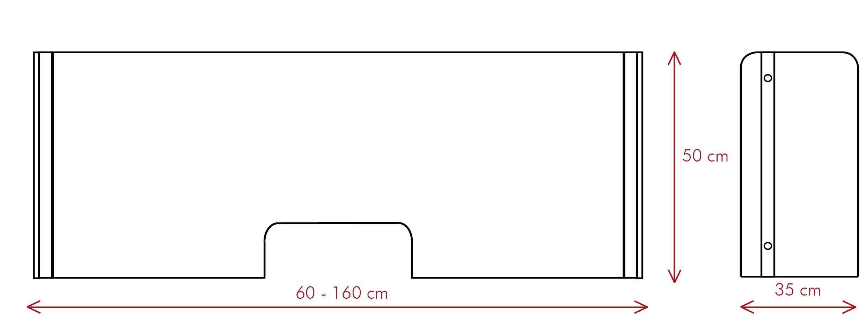 vector mampara proteck sv - Proteck S