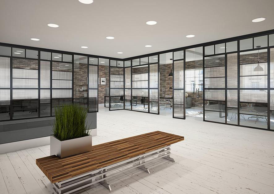 oficinas loft sin acoplar - Fúsion para Contract